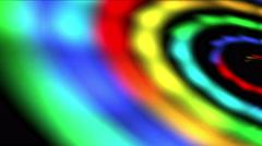4k Rainbow galaxy space,swirl vortex universe,Milky Way,wormhole time tunnel. Stock Footage