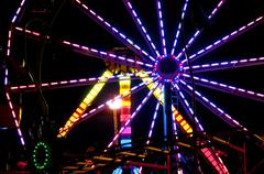 Carnival Midway - stock photo