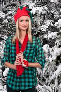 Woman Elf Stock Photos