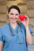 Beautiful Woman Surgeon Stock Photos