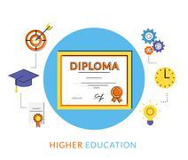 Diploma icon Stock Illustration