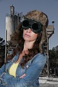 Steampunk Girl Stock Photos