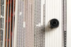 analog films - stock photo