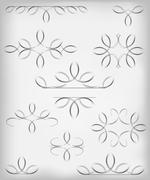 Vector set. a lot of design elements and page decoration.EPS10 vector Stock Illustration