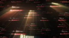 Bright digital art - stock footage