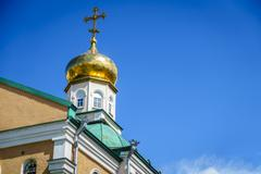 Orthodox church - stock photo