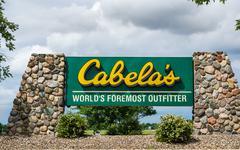 Stock Photo of Cabela's Retail Store Exterior