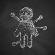 Stock Illustration of voodoo Doll icon