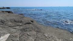 Caspian Sea. - stock footage