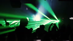 DJ Armin Van Buuren at the stage Stock Footage