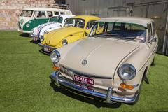 Volkswagen classic cars - stock photo
