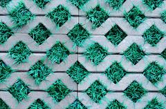 Stock Photo of Paving slabs close up a background