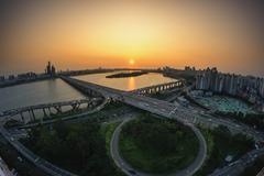Mapo Bridge Stock Photos