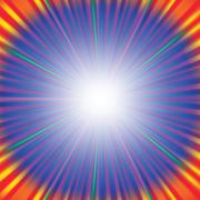 Rays Background - stock illustration