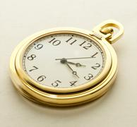 Golden pocket watch Kuvituskuvat