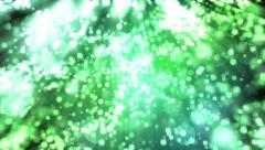 Sparkling light sparks bubbles defocused DOF bokeh abstract background 4K Stock Footage