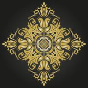 Orient Abstract  Pattern - stock illustration