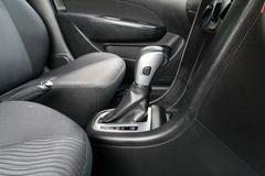 Automatic transmission gear shift. Stock Photos