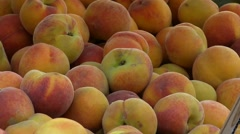Close up Fruit, Market place, Costa Brava Stock Footage