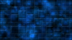 Tiled Background and Light Animation - Loop Blue Stock Footage