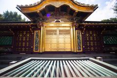 People visit Tosho-gu Shrine on AUG 15, 2015 in Nikko, Japan Stock Photos