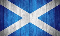Scotland flag - stock illustration