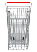 Stock Illustration of Shopping cart for purchase, top view