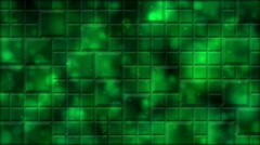 Tiled Background and Light Animation - Loop Green Stock Footage