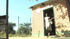 Convenience store in Kitwe, Zambia - stock footage