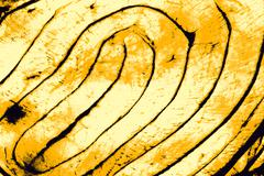 Yellow twirl abstract background. - stock illustration