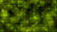 Tiled Background and Light Animation - Loop Yellow Stock Footage