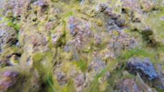 Iceland Silfra Thingvellir Tectonic Plates fault underwater - stock footage