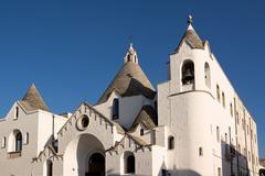 Church of Alberobello - stock photo