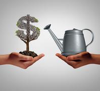 Financial Assistance - stock illustration