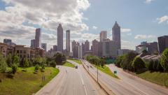 Atlanta Skyline Timelapse Stock Footage