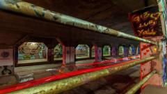 Krog Tunnel Atlanta Timelapse Stock Footage