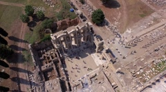 Celsus Library, Ephesus Stock Footage