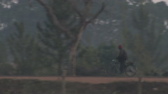 Morning Commute in Kitwe, Zambia Stock Footage