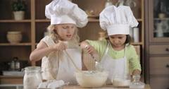 Preparing Pastry Dough Stock Footage