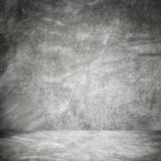 grunge cement room wall texture and background - stock photo