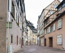 old town of Colmar - stock photo