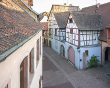 Stock Photo of old town of Colmar