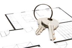 Key to housing - stock photo