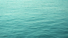 Sea Water Texture Top View Stock Footage