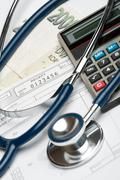 Health financing concept Stock Photos