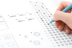 IQ test Stock Photos