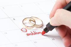 Wedding planning - stock photo