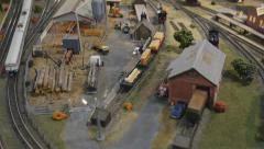 Model Train Set - Full HD 50p Stock Footage