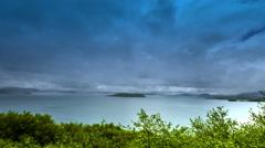 4K TimeLapse. Lake Thingvallavatn in the Thingvellir National Park Stock Footage