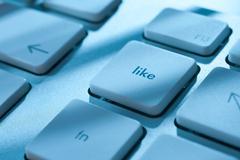 Like - social network Stock Photos